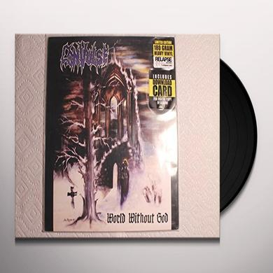 Convulse WORLD WITHOUT GOD Vinyl Record - Holland Import