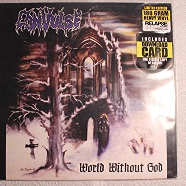 Convulse WORLD WITHOUT GOD Vinyl Record