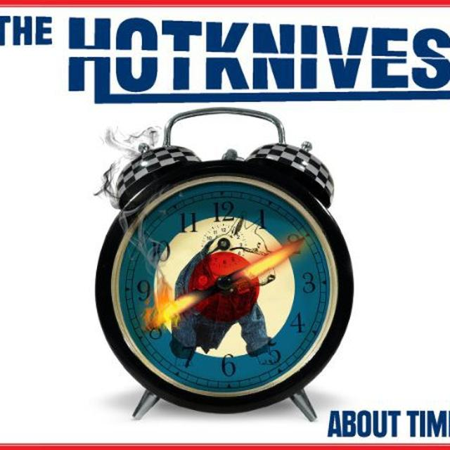 Hotknives ABOUT TIME Vinyl Record
