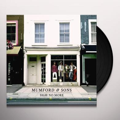 Mumford & Sons SIGH NO MORE Vinyl Record - UK Import