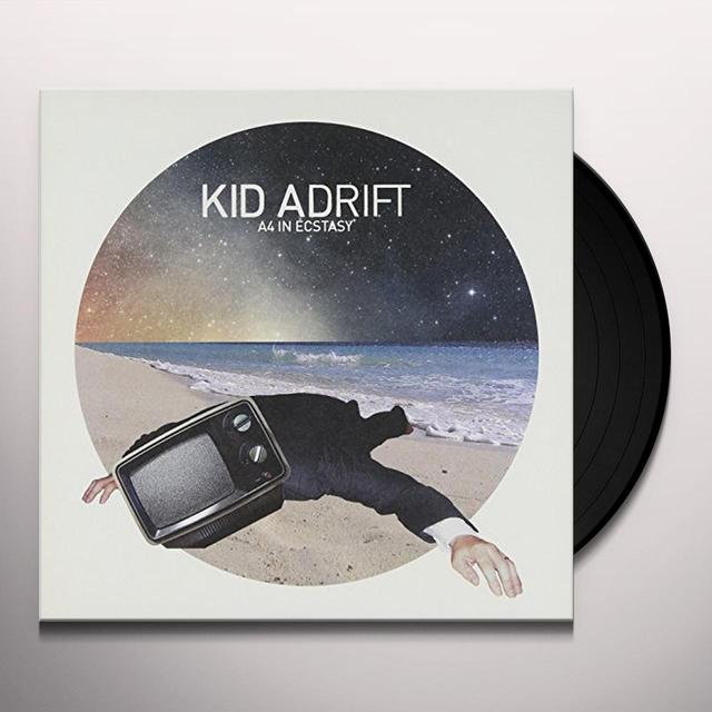 Kid Adrift A4 IN ECSTASY Vinyl Record - UK Import