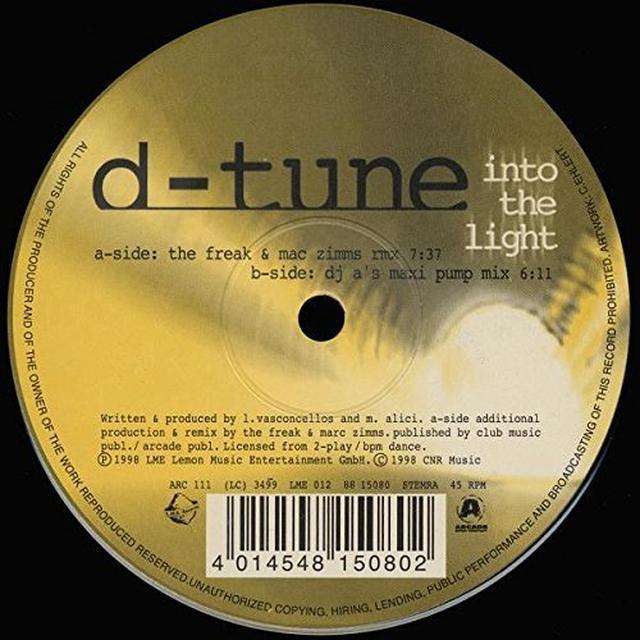 Msadler & Arnaud D INTO THE LIGHT FEAT. ARNAUD D Vinyl Record