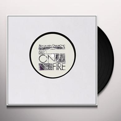 Benjamin Diamond BABY S ON FIRE-REMIXES Vinyl Record