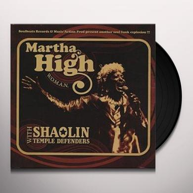 Martha High & Shaolin Temple D WOMAN Vinyl Record