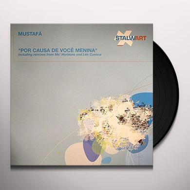 Mustafa POR CAUSA DE VOCE MENINA Vinyl Record