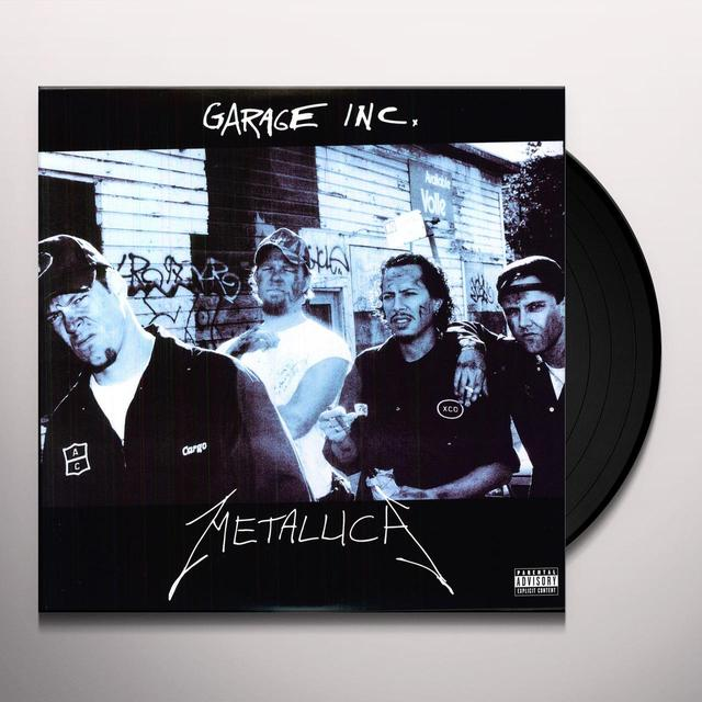 Metallica GARAGE INC Vinyl Record - Portugal Import