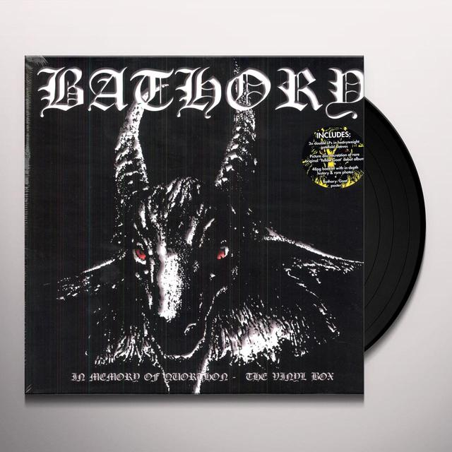 Bathory IN MEMORY OF QUORTHON THE VINYL BOX (UK)