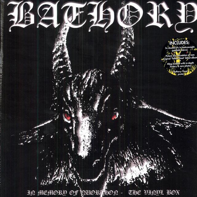 Bathory IN MEMORY OF QUORTHON THE VINYL BOX (UK)