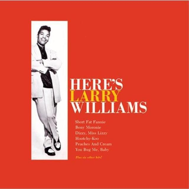 Williams Harry HERE'S LARRY WILLIAMS Vinyl Record - Italy Import