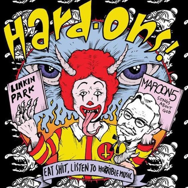 Hard-Ons EAT SHIT LISTEN TO HORRIBLE MUSIC Vinyl Record - Australia Import