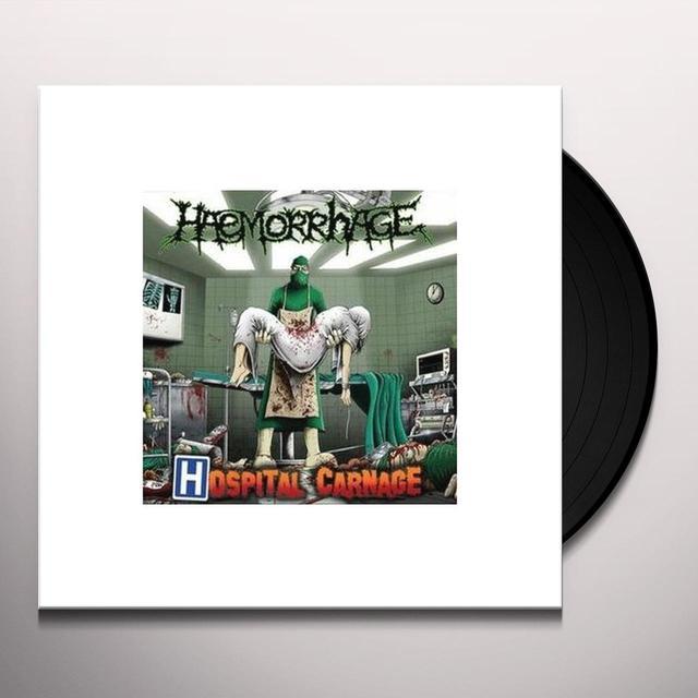 Haemorrhage HOSPITAL CARNAGE  (GER) Vinyl Record