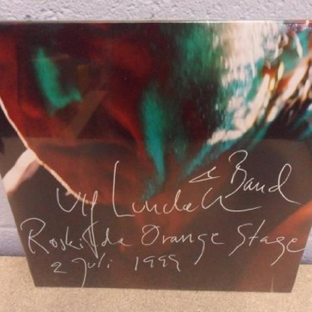 Ulf Lundell ROSKILDE ORANGE STAGE 1999 Vinyl Record - Sweden Release