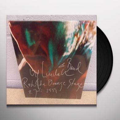 Ulf Lundell ROSKILDE ORANGE STAGE 1999 Vinyl Record - Sweden Import