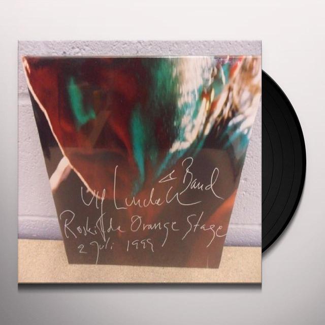 Ulf Lundell ROSKILDE ORANGE STAGE 1999 Vinyl Record - Sweden Release