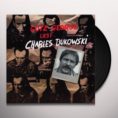 George Gotz LIEST CHARLES BUKOWSKI Vinyl Record - Holland Import