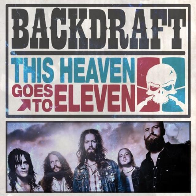 Backdraft THIS HEAVEN GOES TO ELEVEN Vinyl Record