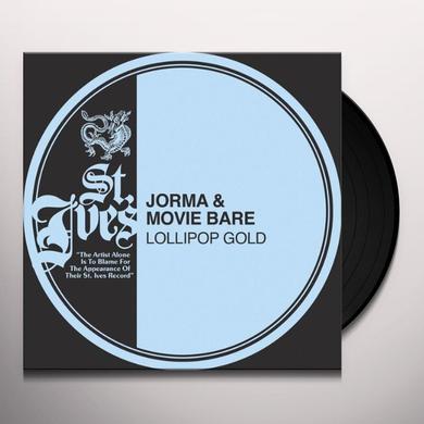Jorma & Movie Bare LOLLIPOP GOLD Vinyl Record - Portugal Import