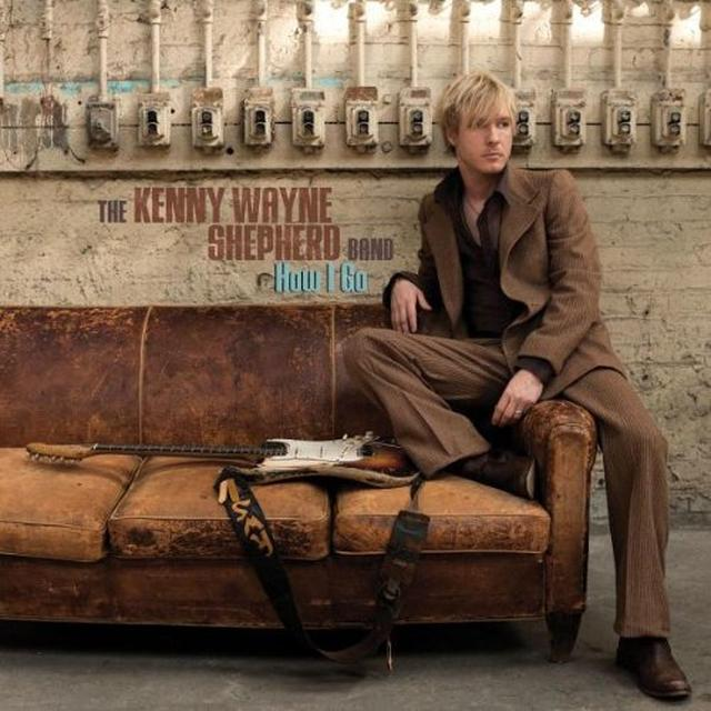 Kenny Wayne Shepherd HOW I GO Vinyl Record