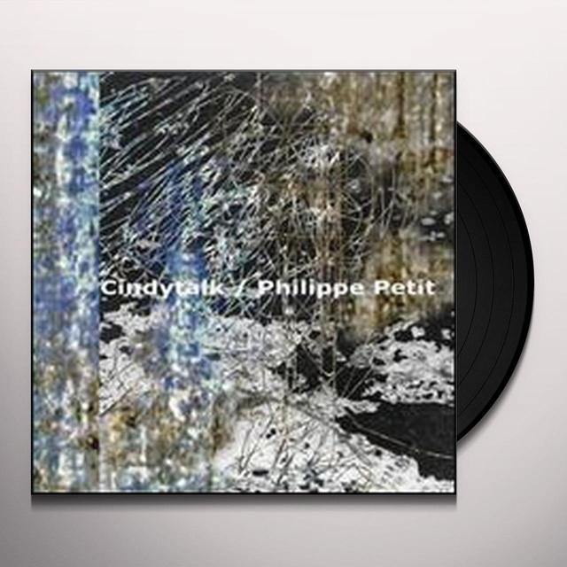 Cindytalk With Philippe Petit QUESTION OF RE-ENTRY Vinyl Record - UK Import