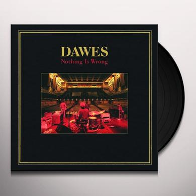 Dawes NOTHING IS WRONG Vinyl Record - UK Import
