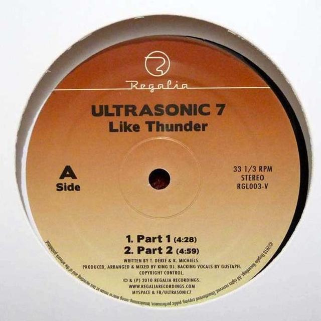Ultrasonic 7 LIKE THUNDER Vinyl Record - Australia Import