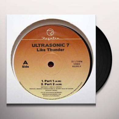 Ultrasonic 7 LIKE THUNDER Vinyl Record