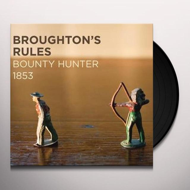 Broughton'S Rules BOUNTY HUNTER  (GER) Vinyl Record