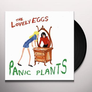 The Lovely Eggs PANIC PLANTS Vinyl Record - UK Import