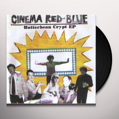 Cinema Red & Blue BUTTERBEAN CRYPT EP Vinyl Record - UK Import
