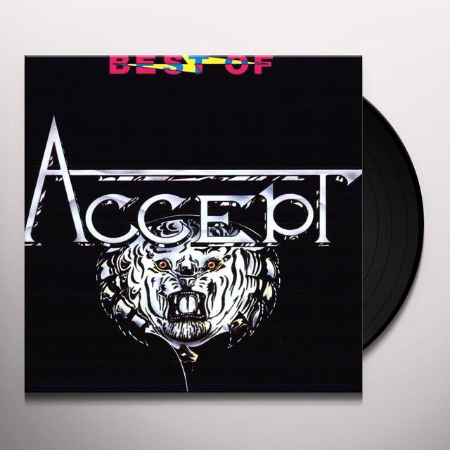 BEST OF ACCEPT Vinyl Record - Holland Release