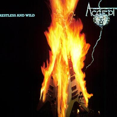 Accept RESTLESS & WILD Vinyl Record - Holland Release
