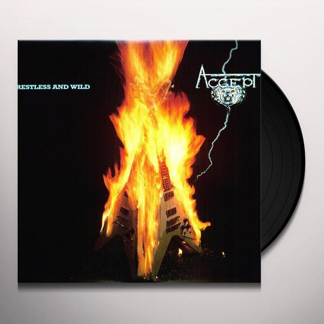 Accept RESTLESS & WILD Vinyl Record - Holland Import