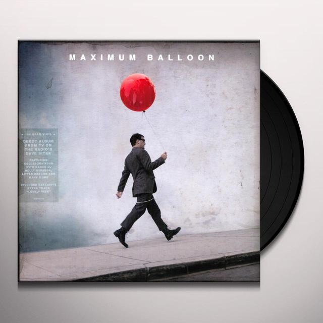 MAXIMUM BALLOON Vinyl Record