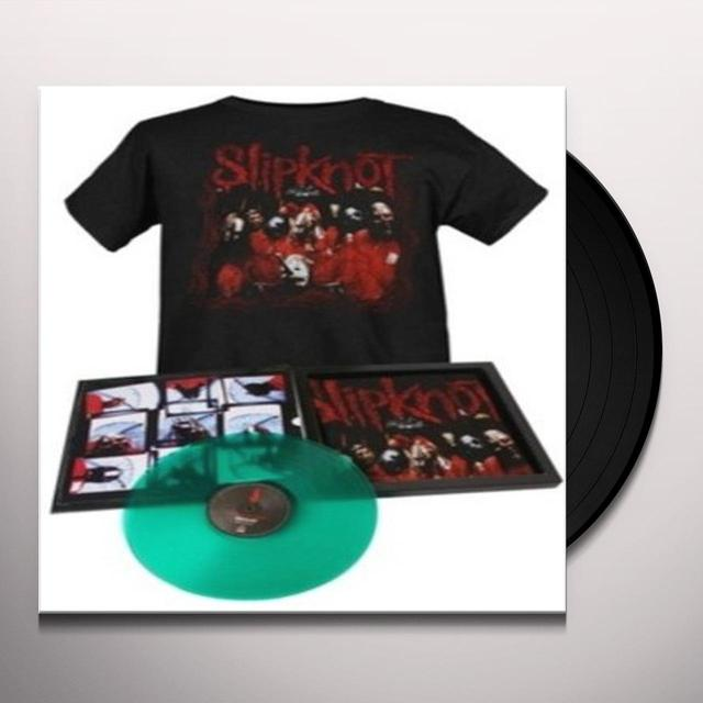 Slipknot DEBUT ALBUM LP+SHIRT Vinyl Record