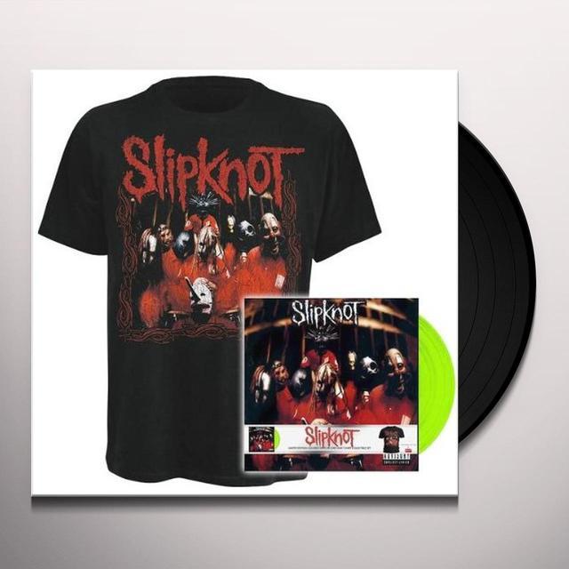 Slipknot DEBUT ALBUM LP+SHIRT Vinyl Record - Portugal Import