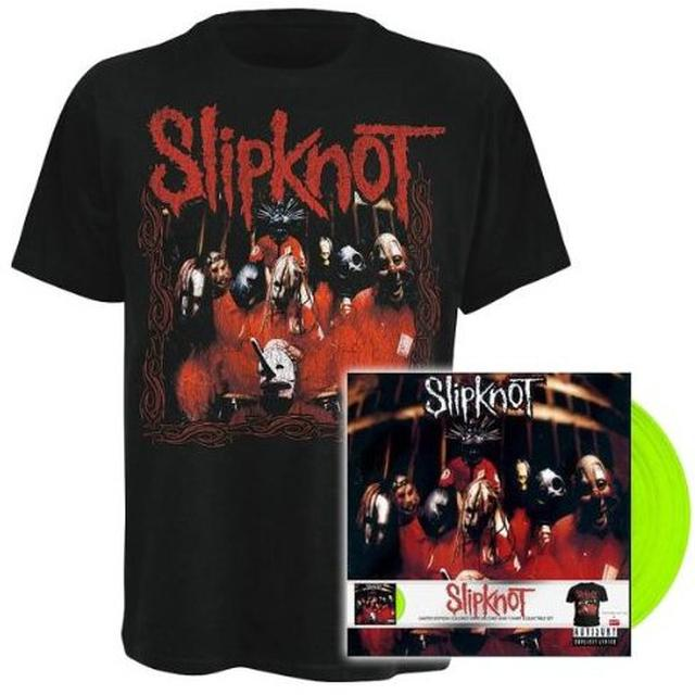 Slipknot Debut Album Lp Shirt Vinyl Record Portugal Import