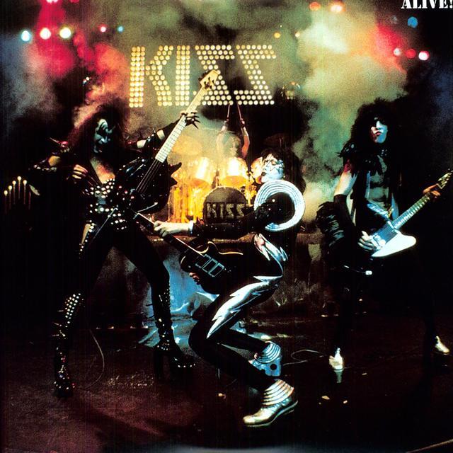 Kiss ALIVE! Vinyl Record - Holland Import