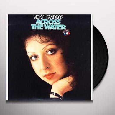 Vicky Leandros ACROSS THE WATER Vinyl Record - Holland Import