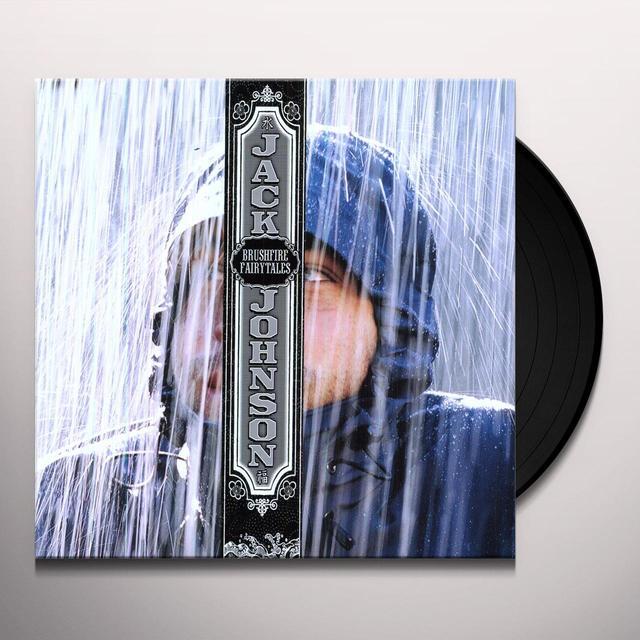 Jack Johnson BRUSHFIRE FAIRYTALES Vinyl Record - Portugal Release