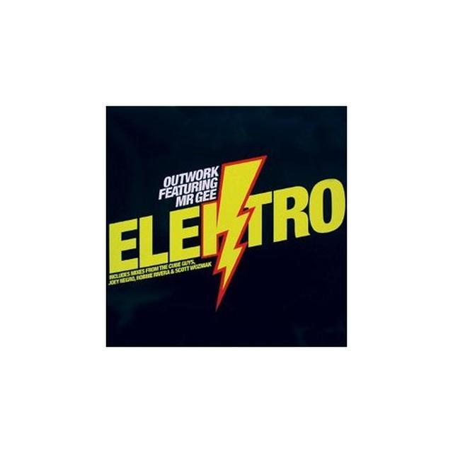 Outwork ELEKTRO Vinyl Record - UK Release