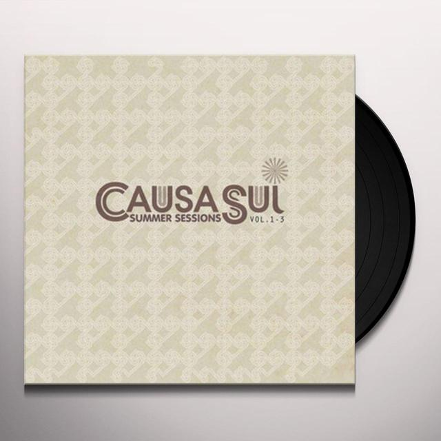 Causa Sui VOL. 1-3-SUMMER SESSIONS Vinyl Record