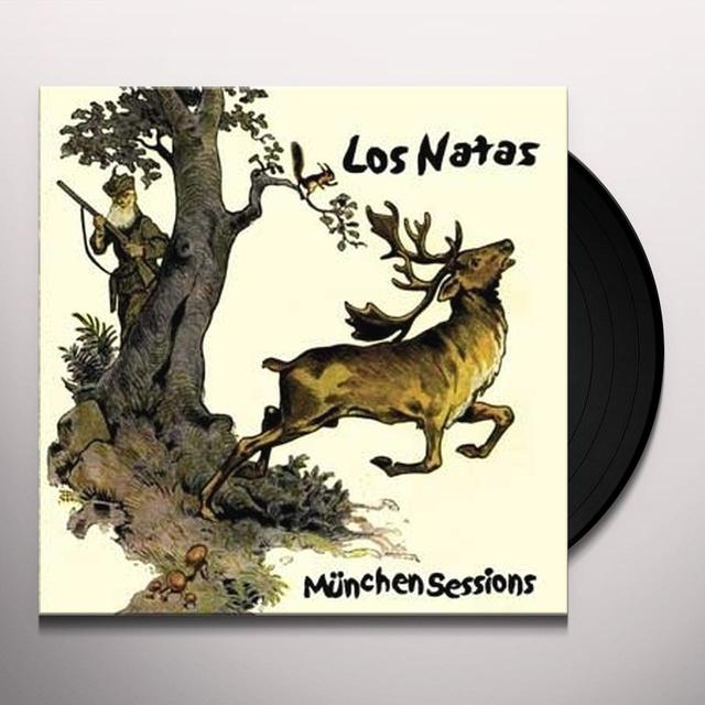 Los Natas MUNCHEN SESSIONS Vinyl Record - Holland Import