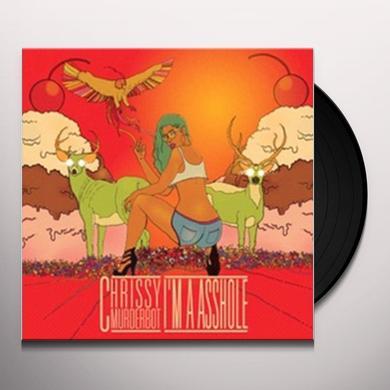 Chrissy Murderbot I'M A ASSHOLE Vinyl Record