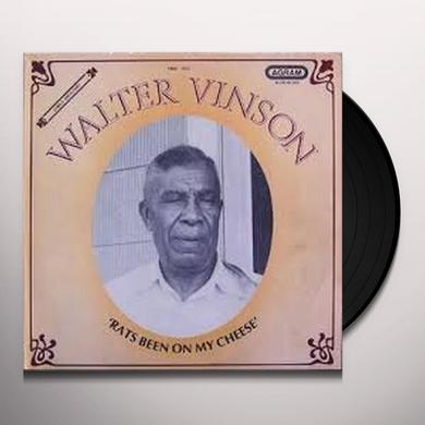 Walter Vinson RATS BEEN ON MY CHEESE Vinyl Record