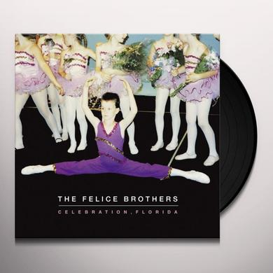 The Felice Brothers CELEBRATION FLORIDA Vinyl Record - UK Import