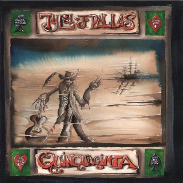 Tyla J Pallas QUINQUAGINTA Vinyl Record - UK Import