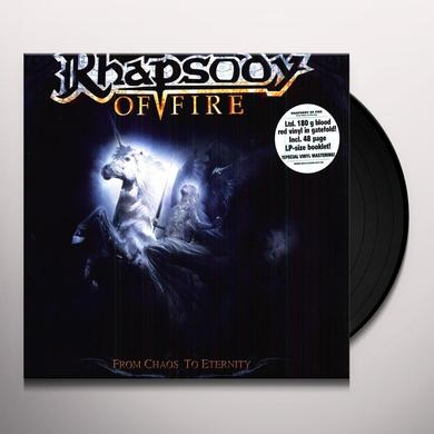 Rhapsody Of Fire FROM CHAOS TO ETERNITY Vinyl Record - Portugal Import