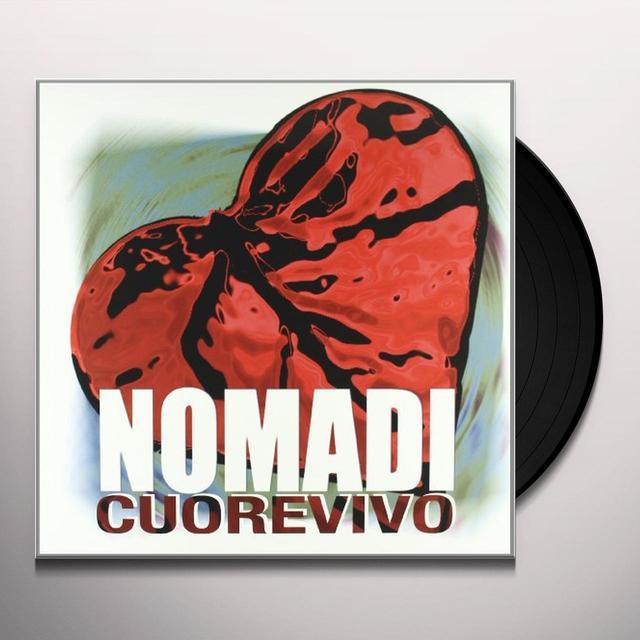 Nomadi CUOREVIVO Vinyl Record - Italy Import