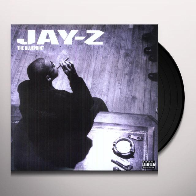 Jay Z BLUE PRINT Vinyl Record - UK Import