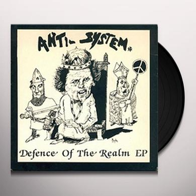 Anti-System DEFENCE OF THE REALM Vinyl Record - UK Import